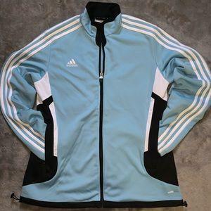 Adidas Trainer/Track Jacket Full Zip Size Medium